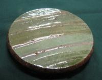 Australian Gumleaf 13cm round pot stand - Click for more info