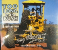 Temporarily out of stock Len Beadell - 3 CD's of Too Long in the Bush - Click for more info