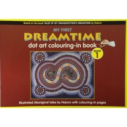 My First Dreamtime Colouring Book 1 - Click for more info